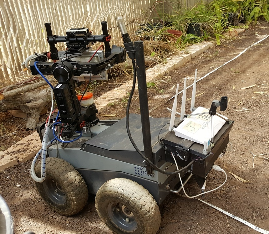An Agricultural robot, Photo: Kineret Manevich